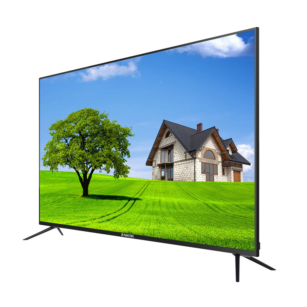 "49"" 50"" 65"" Intelligent Led Smart Tv Led 55 Wholesale China Manufacturer Tv Ultra Hd New Design Wifi Support 55Inch Smart Tv"