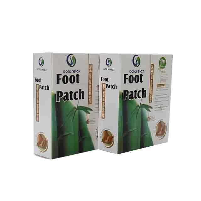 2020 latest china supplier wholesale healthcare wood vinegar detox foot patch for beauty and relieving pressure