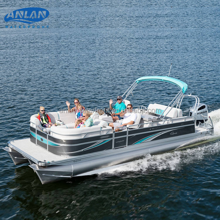 2021 Hot Sale Good Quality Luxury Leisure Sightseeing Party Pontoons Boats For Sale