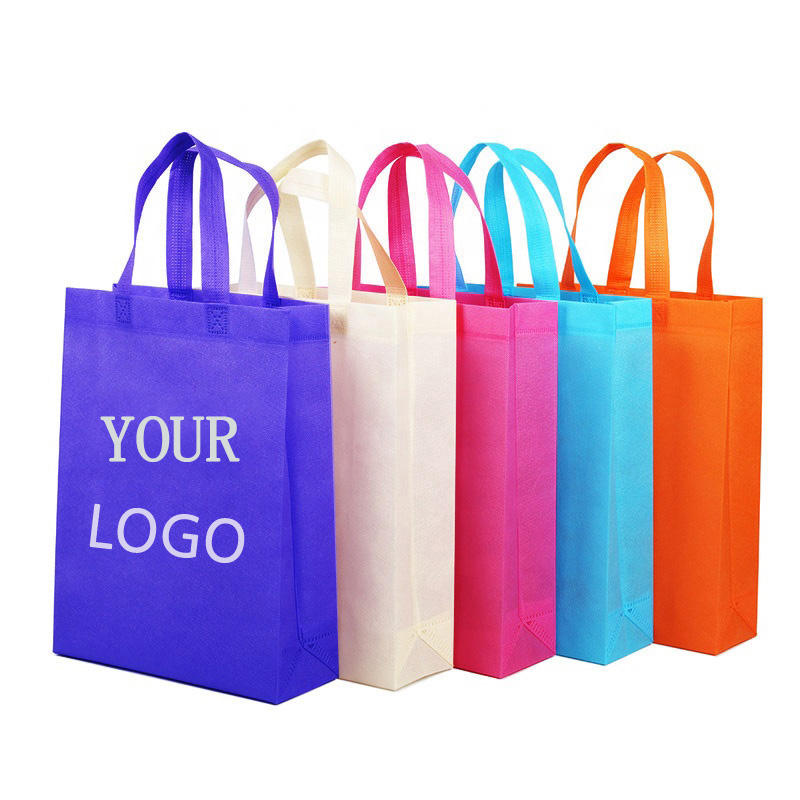 Top Quality Promotional Handled Style Foldable Reusable Shopping Bag Pla Non Woven Tote Bag