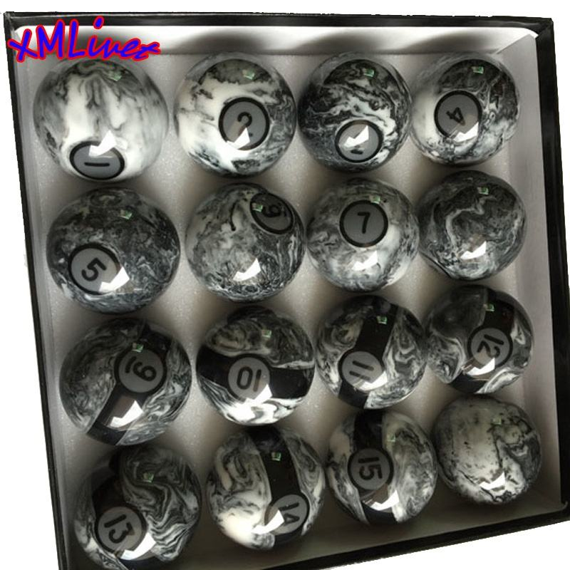 xmlivet Original 57.2mm Billiards Pool Balls High quality Phenolic Resin balls Complete Set of Water Ripple Billiard balls