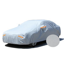 CY-S-059 Hot Sell PEVA Cotton Lining All Weather Protection Car Body Cover Rain Sun Snow Dust Waterproof Car Cover