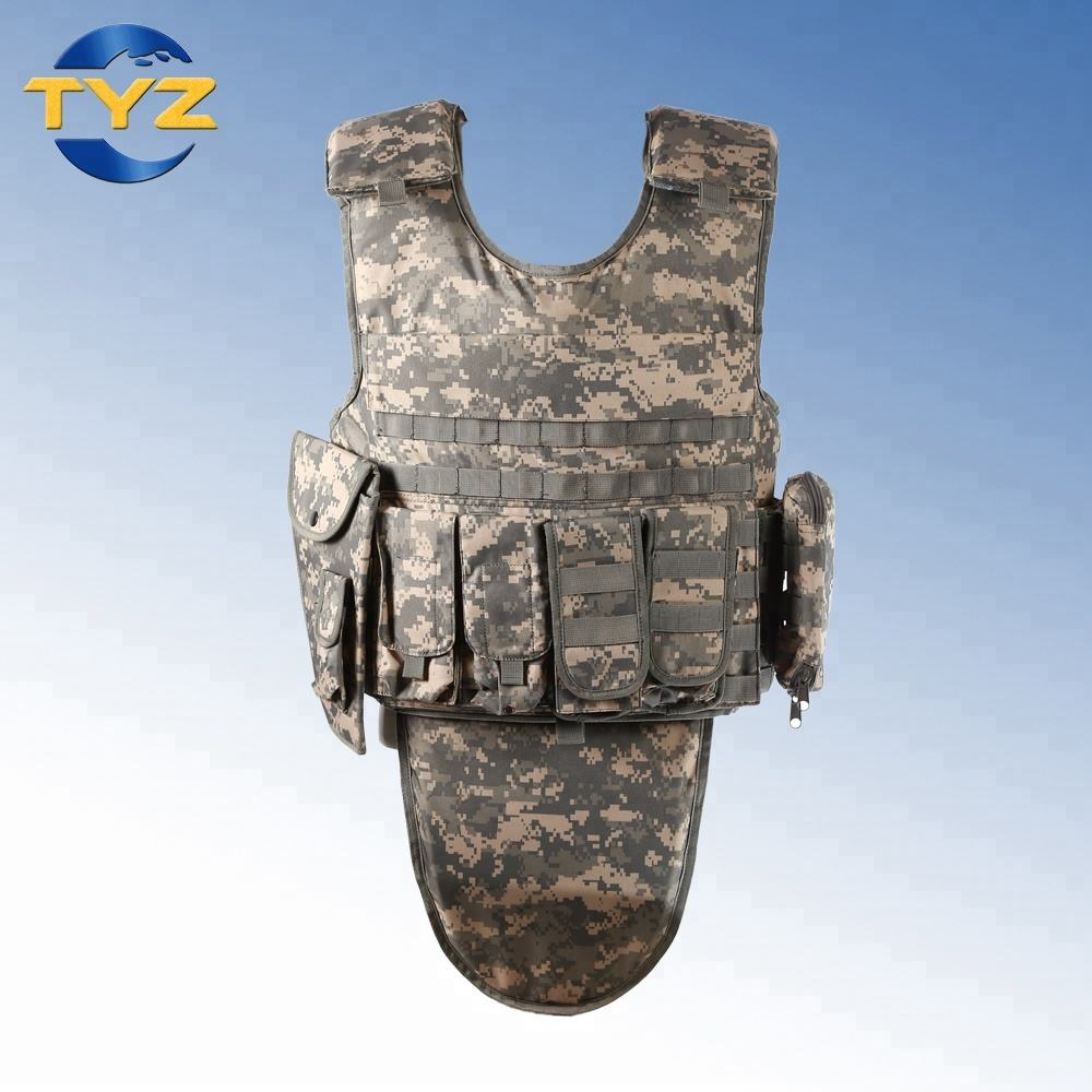 Bulletproof Soft Body Armor Military Police Vest