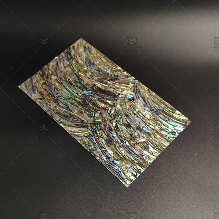 Natural Crafts Abalone Mother Of Pearl Shell Sheet Inlaid Furniture Guitar Decoration