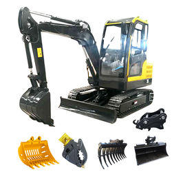 china import 1000-1300kg weight 1t 1.3t 1.5t mini bagger excavator 1.5ton free shipping to EU with CE