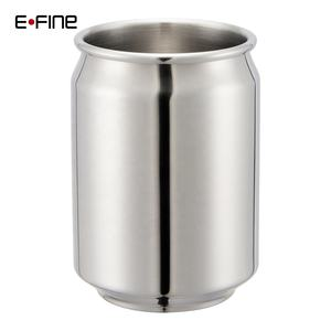 EFINE 400ml Travel Tin Copper Plated Coffee Mugs Stainless Steel Beer Mug Manufacturer