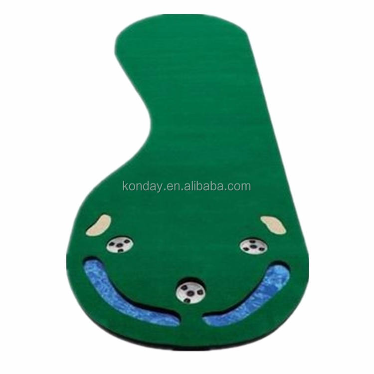 Golf Putting Green Mat Putting Gift Set