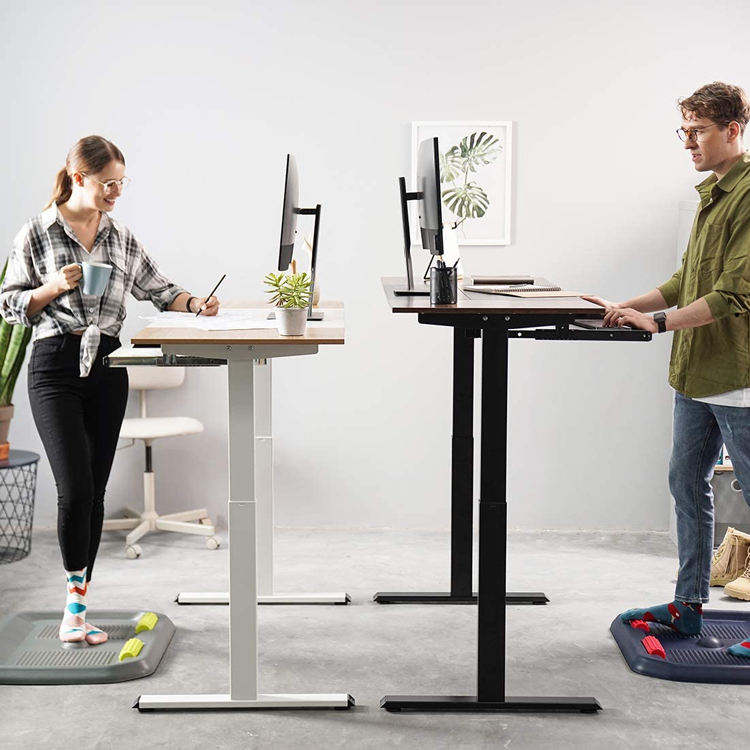 Mobile Workstation Home Office Table Base Standing Frame Height Adjustable Automatic Sit Stand Desk