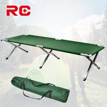Reliable Foldable Army Cot Folding Military Bed Outdoor Aluminum Camping Bed For Vacation