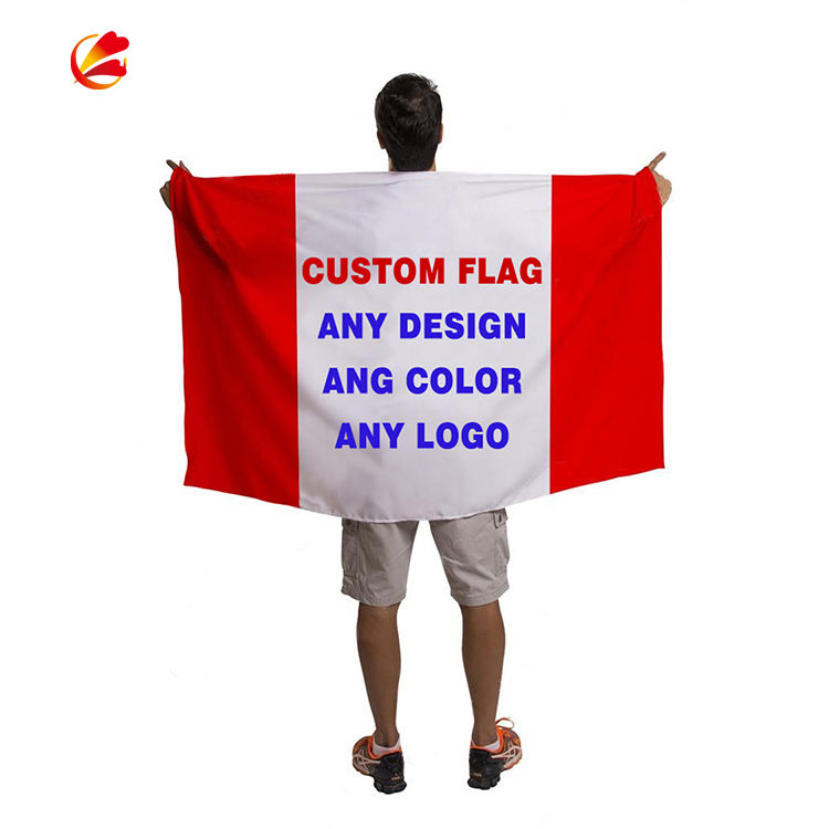 Wholesale high quality 48h Fast Delivery 3X5 Custom flag Customized Logo Printing Flags