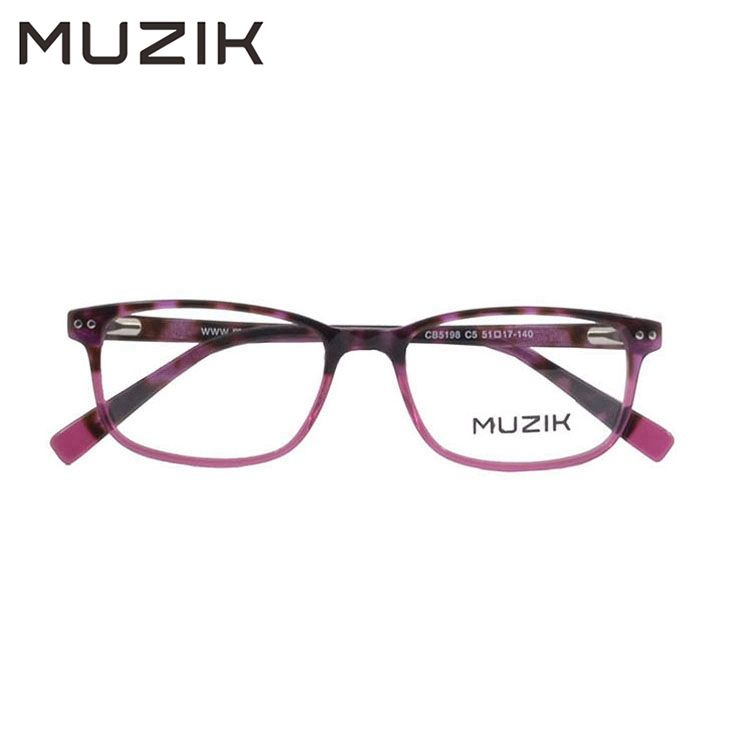 High quality brand vintage amber color acetate optical eyeglass frame