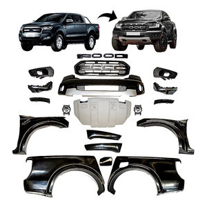 4x4 Auto Parts Front Grill Front Bumper Body Kit for Ranger T7/T8 Update to Raptor