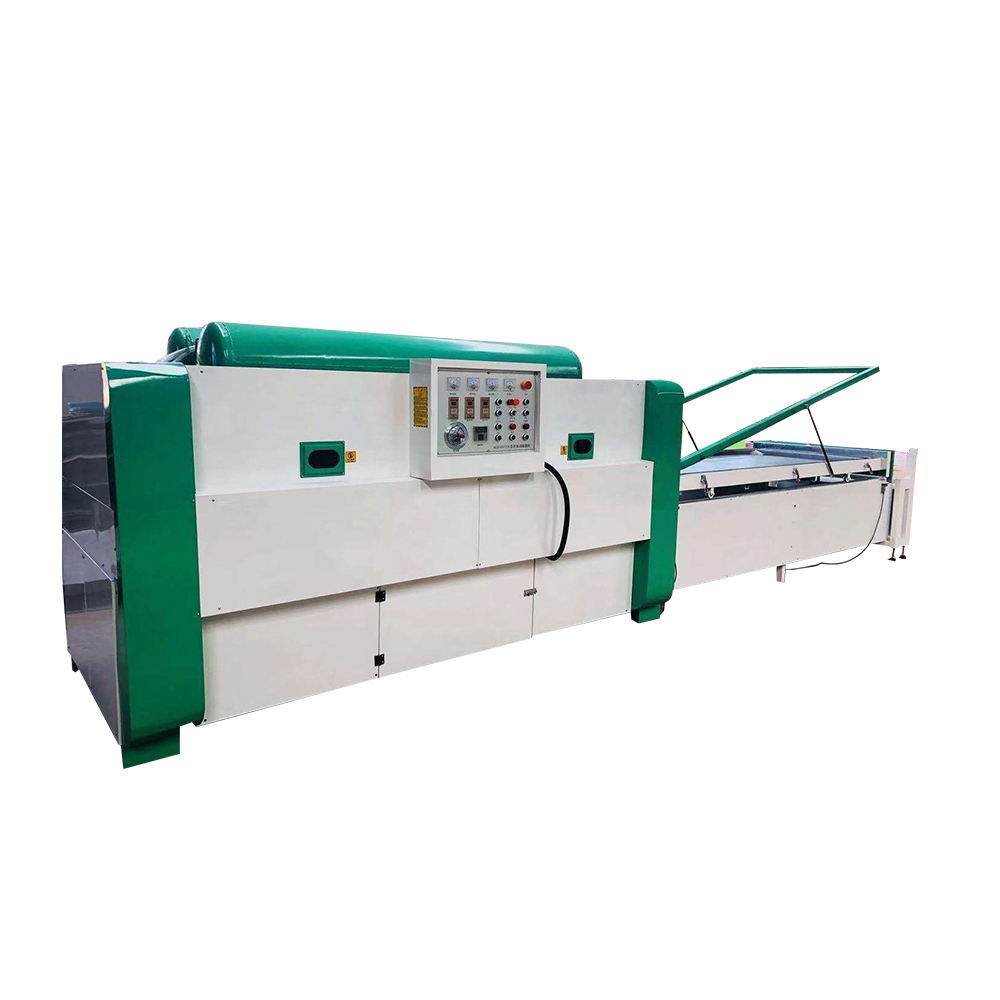 High quality automatical woodworking pvc door laminating machine vacuum membrane press machine