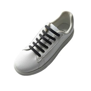Silicone elastic no-tie lazy shoelaces for sneakers