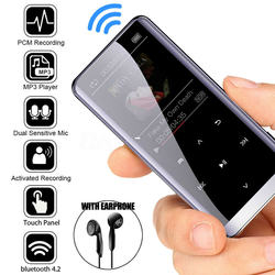 M13 Bluetooth MP3 Player mini sports music player Festival Present 25 different language Multi-founction Screen Touch 8G 16G 32G