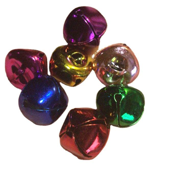 Wholesale Products metal Small colored jingle bells Painted Brass Round Pet Jingle Bells
