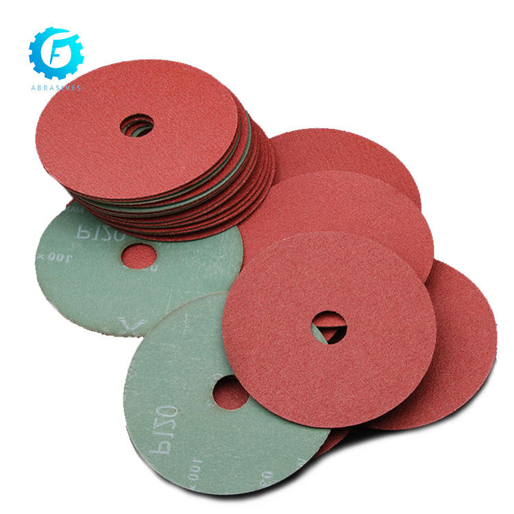 High Quality Aluminum Oxide P24 Ceramic Sanding Resin Bond Resin Carbon Abrasive Fiber Disc