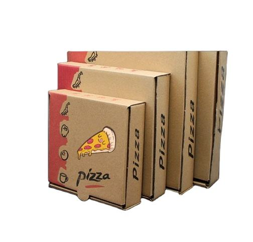 Made in China Custom Pizza Packing Box Printed Designed Pizza Box
