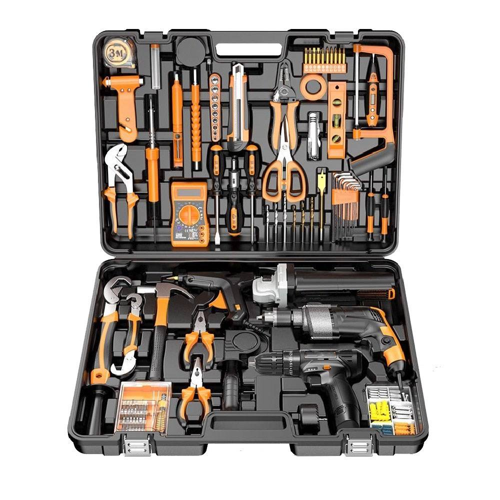 Waterproof Plastic multi-function home hardware kit household toolbox electrician dedicated tools electric