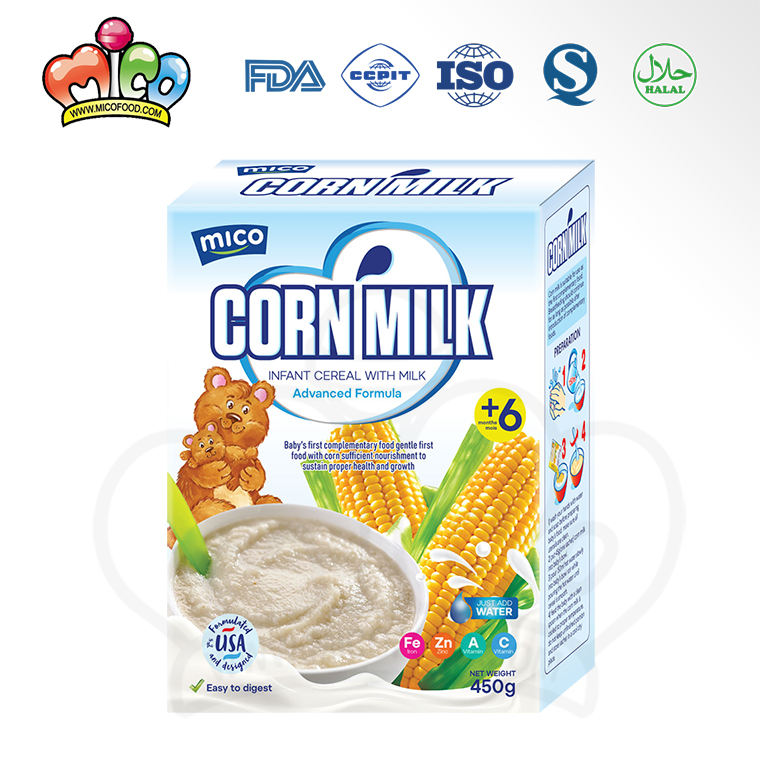 best-selling high quality corn milk baby infant cereal