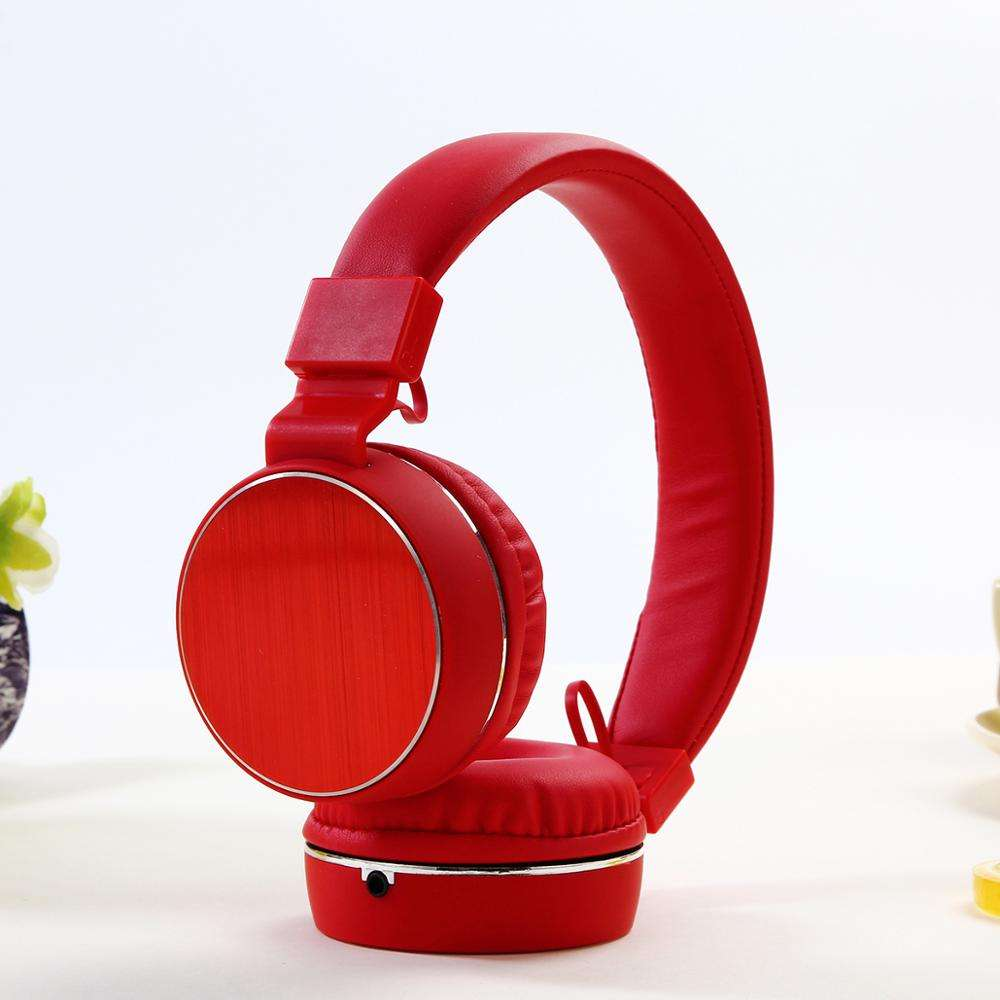 Custom New Arrival Stereo Wired Wireless Headset with 3.5mm Universal Audio Cable with Microphone