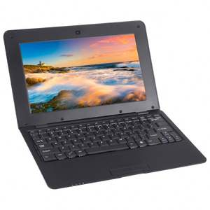 Netbook PC, 10.1 inch, 1GB+8GB,Android 6.0 Allwinner A33 Quad Core 1.5GHz, WiFi, USB, SD, RJ45(Black)
