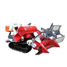 4LZ-1.2 mini rice combine machine/grain harvester/paddy harvester in Vietnam