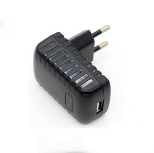 Eu AU US UK Dipertukarkan Plug Charger Dinding AC/DC 10W Mobile Ponsel Power Adaptor 5V 1A 2.1a 2A Usb Adaptor
