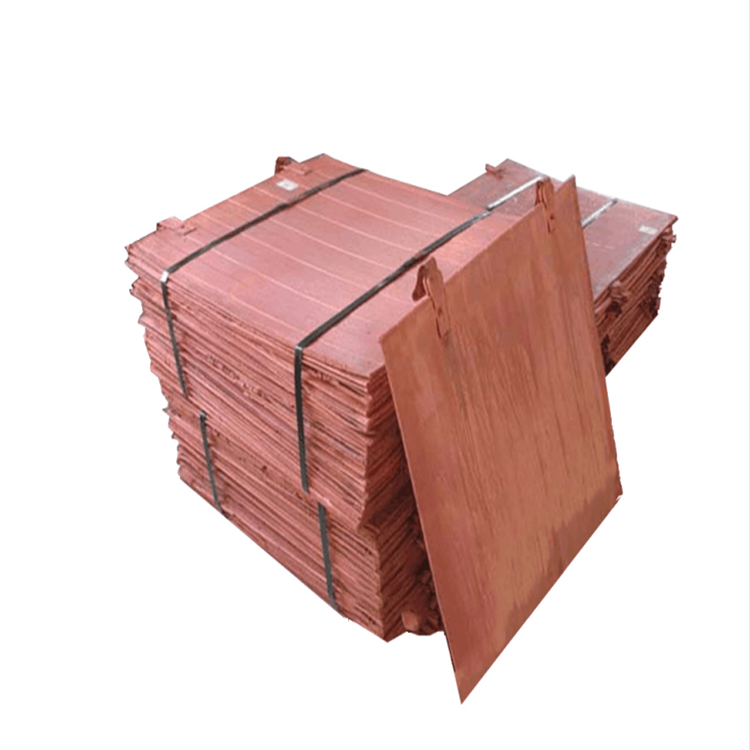 Chinese Factory supplier of Electrolytic copper price and Copper cathode/electrolytic copper cathodes