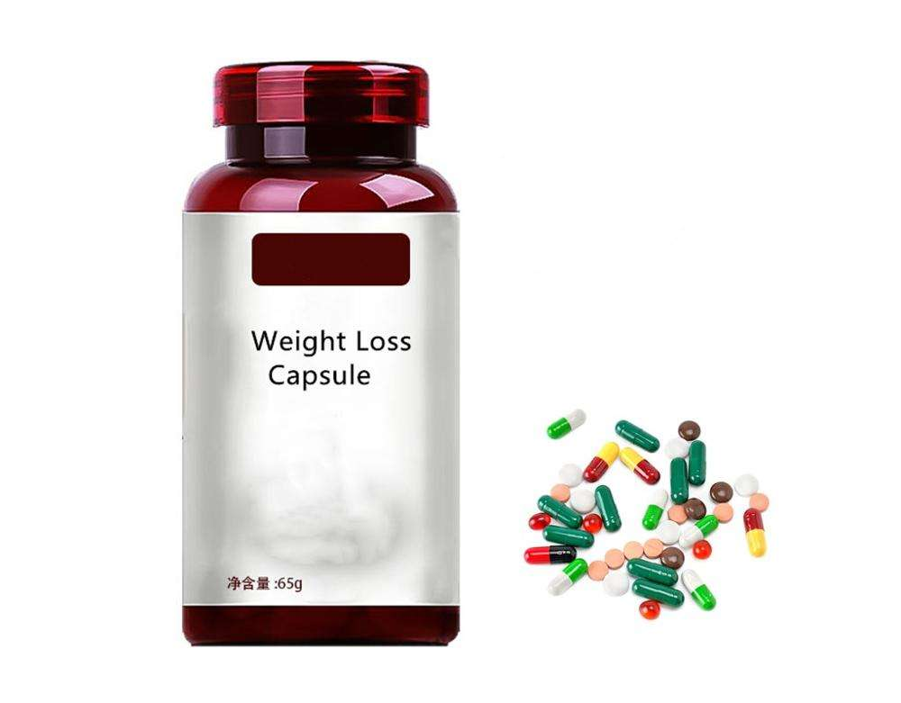 OEM wholesale herbal sea buckthorn extract capsules boost energy sliming capsule weight loss
