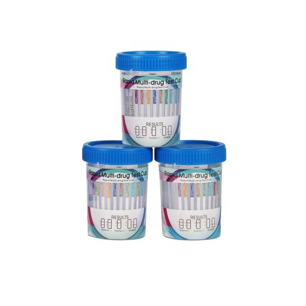 CLIA WAIVED urine toxicology cup with testing strips 12 panel drug test cup