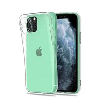 Mobile Cover Supplier Clear Transparent 2.0mm Thickness TPU Mobail Phone Case for Apple iPhone 11 Pro Max XS XR X 8 Plus 7 6s SE
