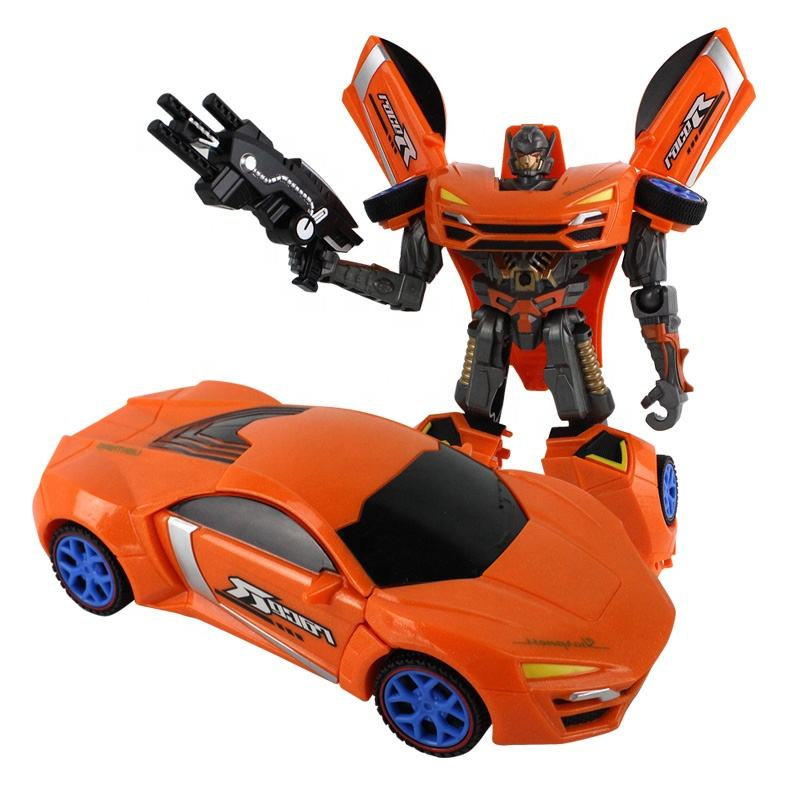Hoge Kwaliteit Kids Play Vervorming Auto <span class=keywords><strong>Speelgoed</strong></span> 2-In-1 Robot Transformatie <span class=keywords><strong>Speelgoed</strong></span> Met Light & Sound