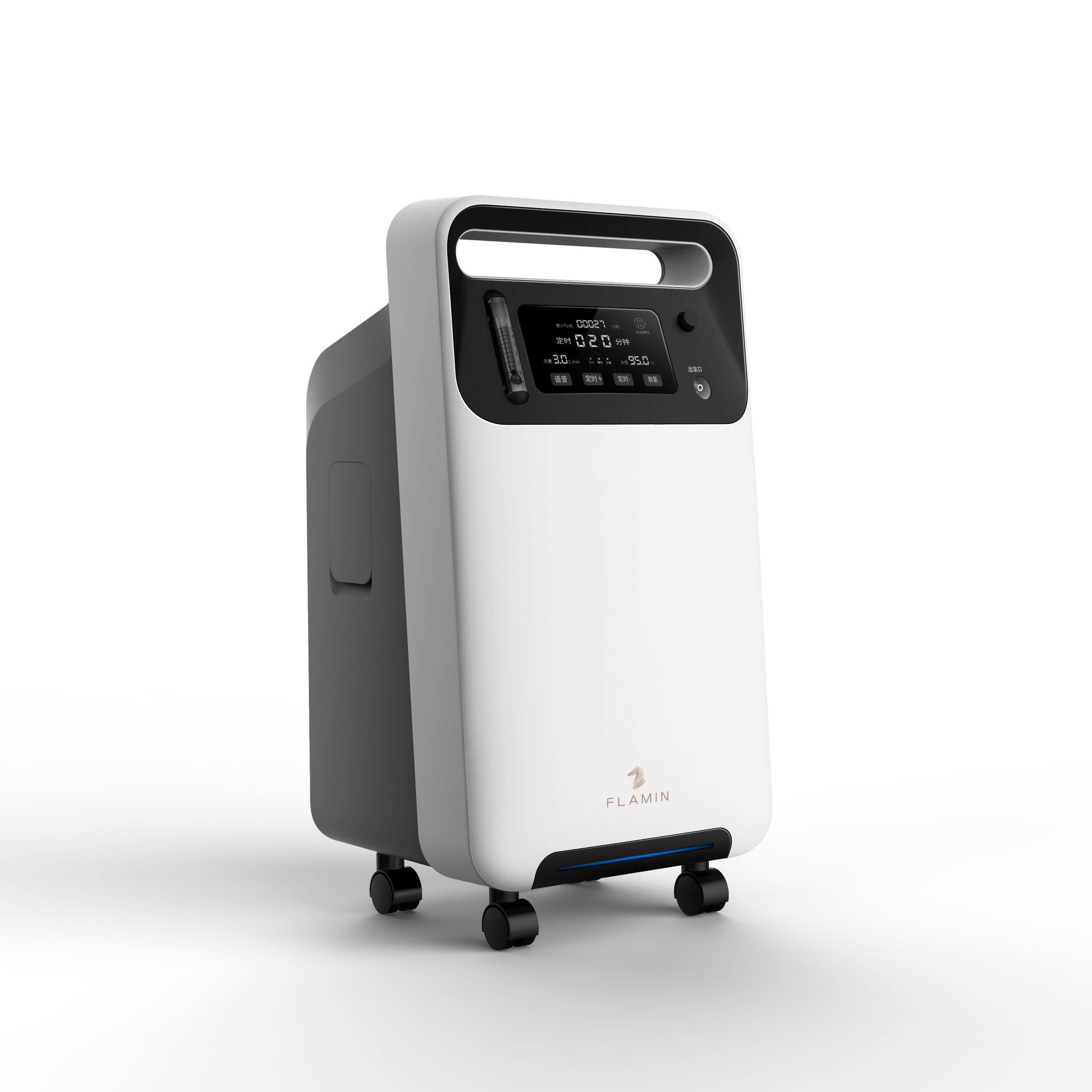Big Screen Digital Oxygen Concentrator At Home Device