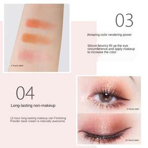 Wholesale Private Label Cool And Oil Control Yeshadow Primer Foundation Emakeup Eyebrow Primer