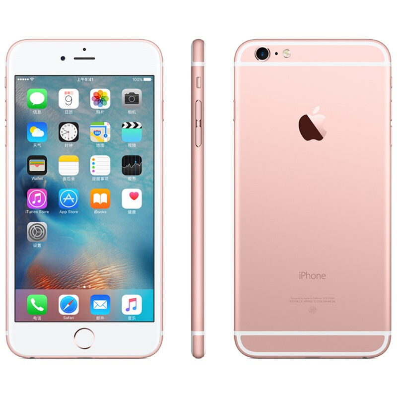 Apple used Apple 6 / second hand mobile phone / Apple 6 rose gold / 4G Mobile Smart phone for students and the elderly / 1g + 16