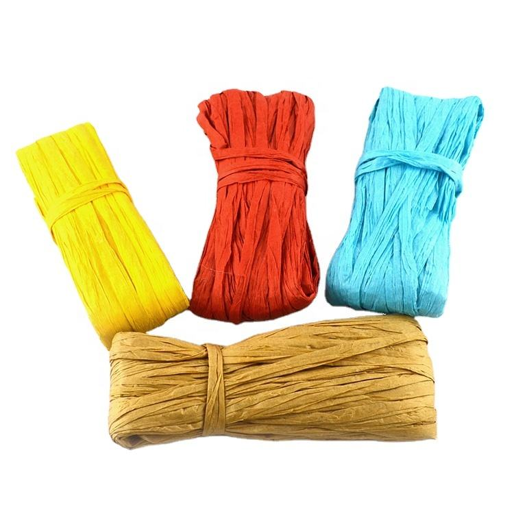 Craft Colored Paper Raffia for DIY and education