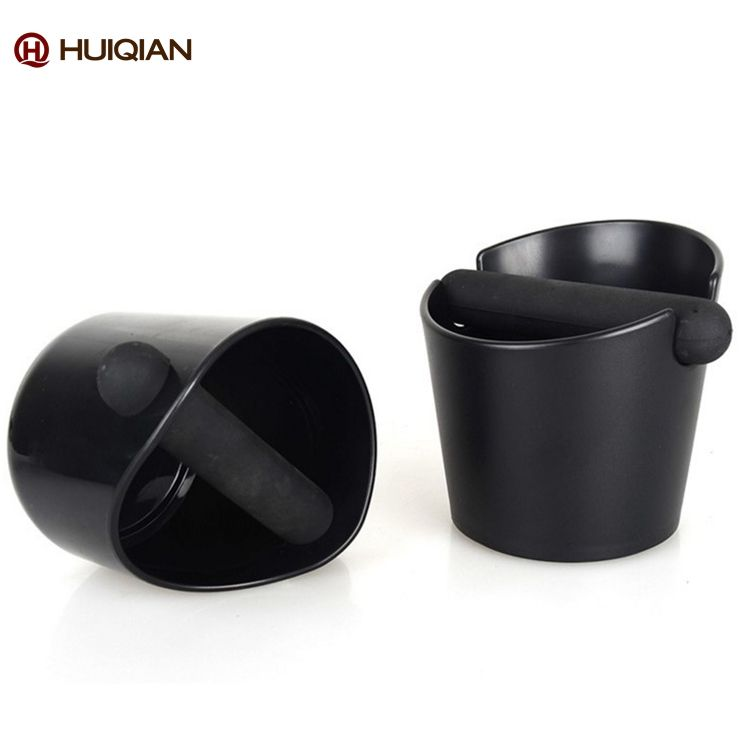Amazon hot sale Knock Box / Espresso Mini grind container Knock Box silicone round coffee knock box