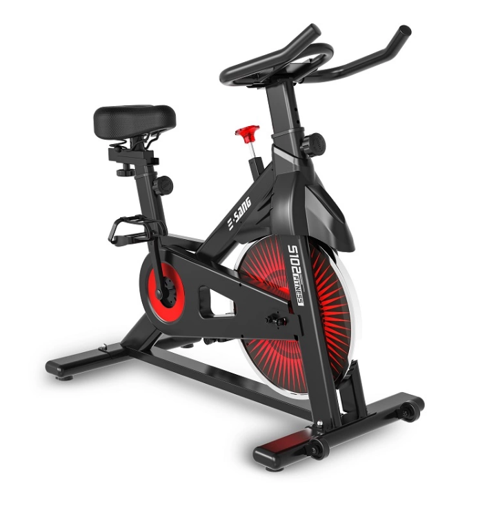 Body building home gym equipment fitness machine exercise magnetic static bicycle sports spin bike