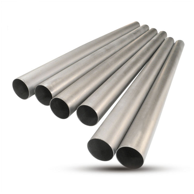 76mm 89mm Titanium Exhaust pipe 1.0mm and 1.2mm titanium tube in stock for Auto exhaust system
