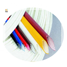 PVC coated fiberglass cable protective sleeve