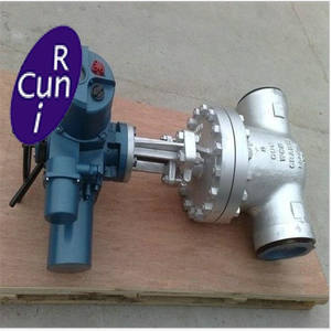 Cast steel gate valves with RF / BW end commection