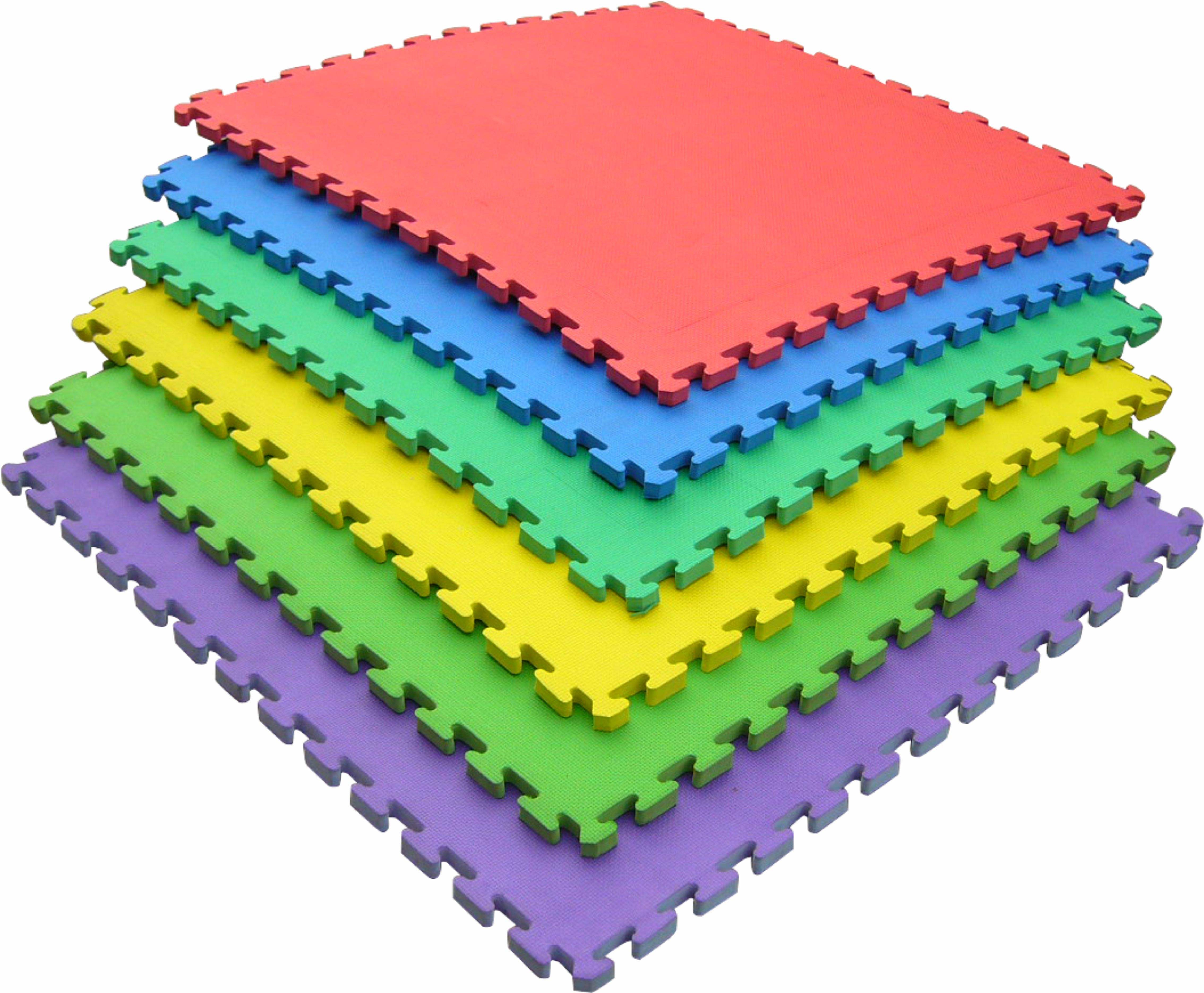 Indoor Playground Interlock EVA Mats for Kids