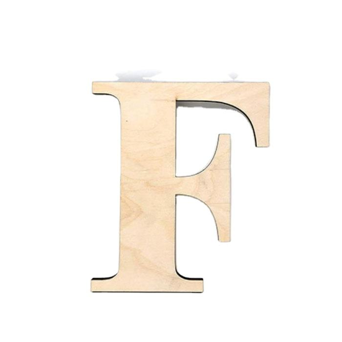 Home Table Decoration Unfinished Decorative MDF Love Letters for Wedding Wood Carving Letters