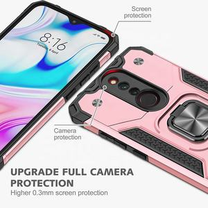 Heavy Duty Phone Case Shockproof Kickstand Car Bracket Phone Cover for Xiaomi Remi 8/8A Case