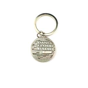 High quality customize special shape keychain 3D ball keychain