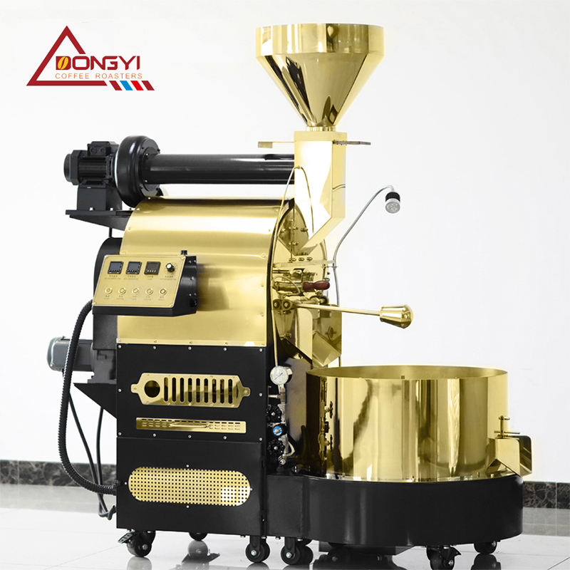 best price Dual wall stainless steel 12kg coffee roaster with data logger