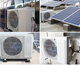 Solar Air Conditioner 48V DC Solar Air Conditioner For Home Solar Powered Air Conditioner Full DC Volt Inverter Minisplit 1 Ton 1.5Hp