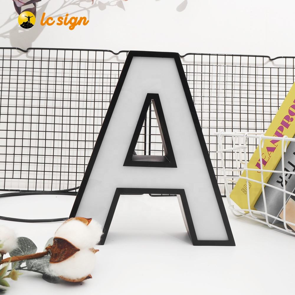 customized 3D LED Lighting Sign Letters Signboard LED Channel Letters and LOGO for outdoors use