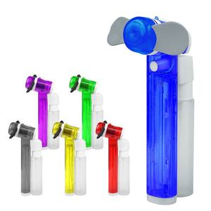 Hot Koop Promotionele Hand Held Mini Mist Fan Waterkoeling Batterij Fan